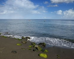 The island of Saint Vincent in the Caribbean is for me mainly hot black volcanic sand and azure sea.