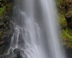 Saint Vincent and is also island of beautiful waterfalls. On the picture for me the most beautiful - Baleine waterfall.