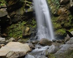 Tropický raj - vodopády Baleine.