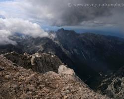 Western view of Triglav / 2864 m.n.m. /