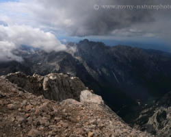 Western view of Triglav / 2864 m.n.m. /